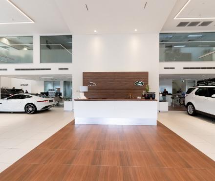 Jaguar Land Rover service desk Sydney